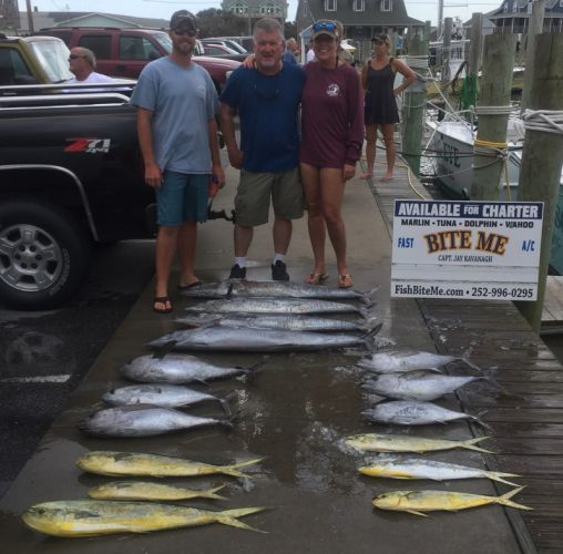 Bite Me Sportfishing Charters, Fall Meat out of Hatteras!