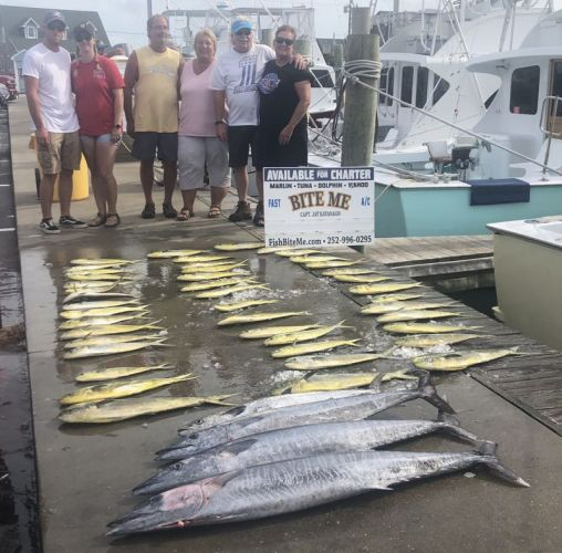 Bite Me Sportfishing Charters, Dolphin wahoo king