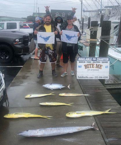 Bite Me Sportfishing Charters, Sailfish, Tuna, Dolphin, and Wahoo
