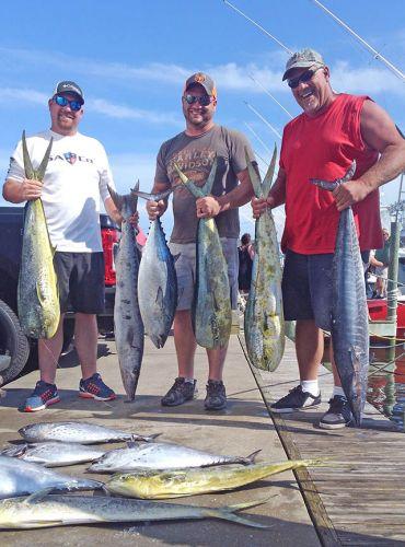 Tuna Duck Sportfishing, Fun Day Offshore
