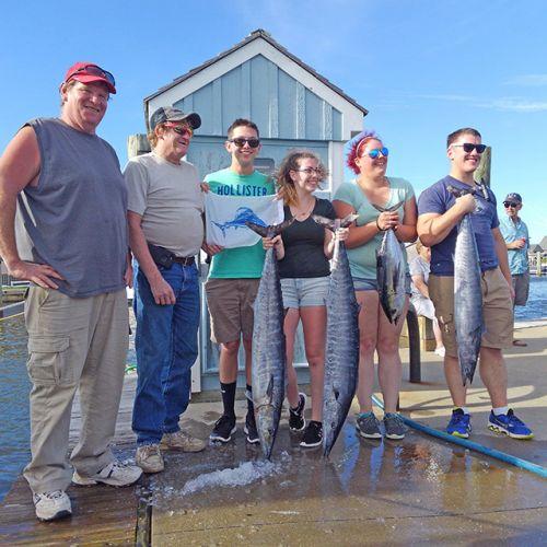 Tuna Duck Sportfishing, Sailfish Release and Wahoo