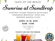 Sunrise at Sandtrap - Taste of the Beach