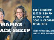 Mama's Black Sheep Free Concert
