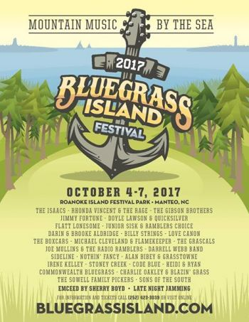 Bluegrass Island 2017 Family 4 Pack of Passes