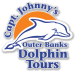Logo for Captain Johnny's Dolphin Tours
