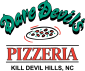 Logo for Dare Devil's Pizzeria