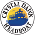 Logo for Crystal Dawn Head Boat Fishing and Sunset Cruise
