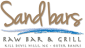 Logo for Sandbars Raw Bar & Grill Outer Banks