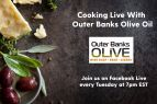 Outer Banks Olive Oil Co., Cooking Live with Laura & Phil