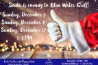 OBX Events, Santa Comes to Bluewater