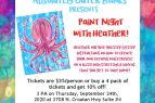 Absolutely Outer Banks, Paint Night