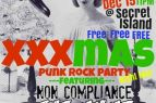 Secret Island Restaurant Outer Banks, Xmas Punk Rock Party