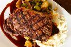 The Village Table & Tavern, 12oz. New York Strip Steak