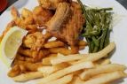 Sonny's Restaurant on the Hatteras Waterfront Outer Banks, Fried Platter - Create A Combo