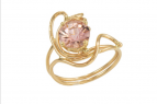 Jewelry By Gail, Pink Tourmaline Ring