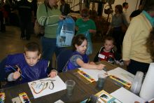 Land of Beginnings' Children's Faire is hands-on fun.