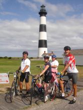 The Lighthouse to Lighthouse Bike Ride comes up on Saturday.