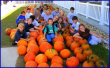 Pick out a pumpkin at the NHES Pumpkin Fair on Saturday.