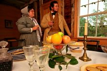 Celebrate Christmas 1850s style at Island Farm on Sat.