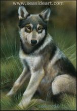 See the Animals in Art Show at Seaside Gallery in Nags Head.