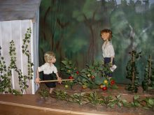 Enjoy the N.C. Marionette Theater on Friday and Saturday.