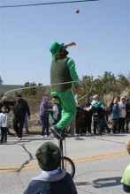 Loved that small-town vibe at Kelly's St. Patty's Parade.