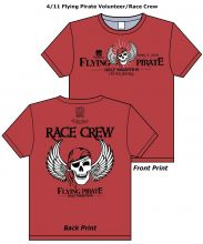 Volunteer at the Flying Pirate and get a cool crew shirt.