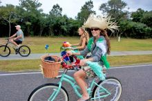 Dress up for the Bike the Light bike parade on Saturday.