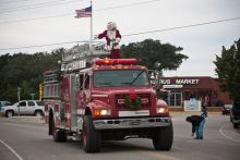 The Hatteras Village Christmas Parade is on Sunday.