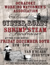 Let's eat oysters in Ocracoke on Friday...