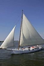 The Wilma Lee has found a new home in Ocracoke's Silver Lake