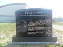 This new monument on Hatteras will be dedicated on Thursday.