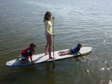 Have you tried standup paddleboarding yet?