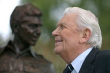Andy Griffith died on Tuesday at his Roanoke Island home.
