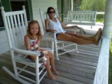 Relaxing on Ocracoke Island
