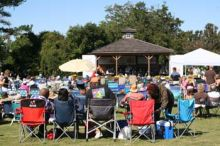 The Duck Jazz Festival will rock this tiny town on Sunday.