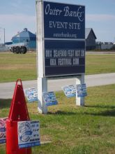 The Outer Banks Seafood Festival is Saturday in Nags Head.