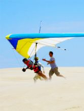 Take to the air at the 2013 Hang Gliding Spectacular.