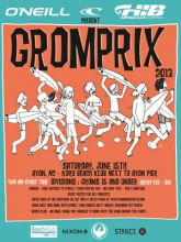 Youth surfers compete for prizes at Gromprix in Avon.
