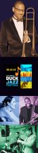 Check out the free Duck Jazz Festival this weekend.