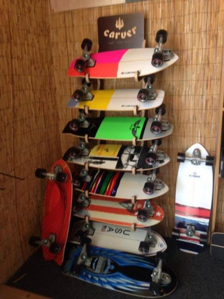 Island Revolution Surf Company and Skatepark, Carver Boards