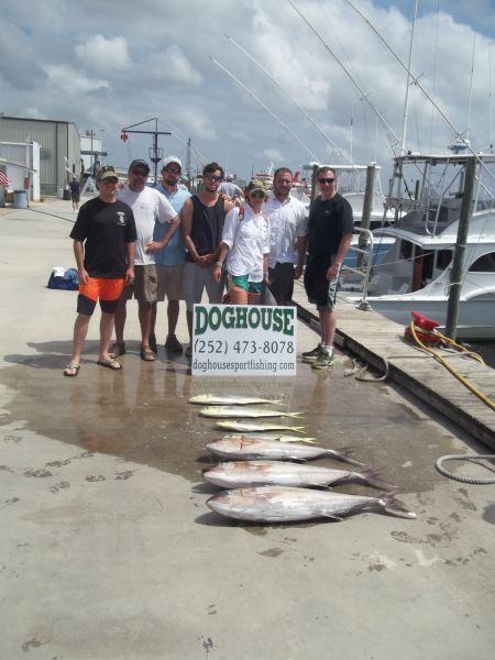 OBX Marina, Amberjack & Dolphin