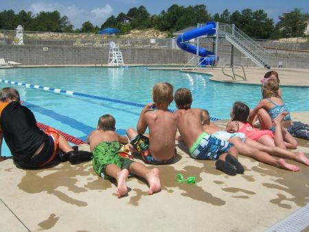 YMCA Water Park, Lap Lanes & Water Slide