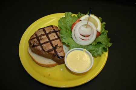 Howard's Pub, Grilled Teriyaki Tuna Sandwich