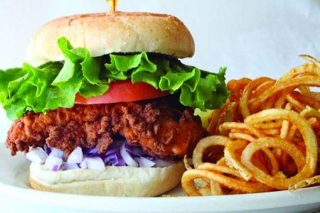 Gaffer's Restaurant on Ocracoke Island, Fried Chicken