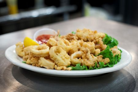 Gaffer's Restaurant on Ocracoke Island, Calamari