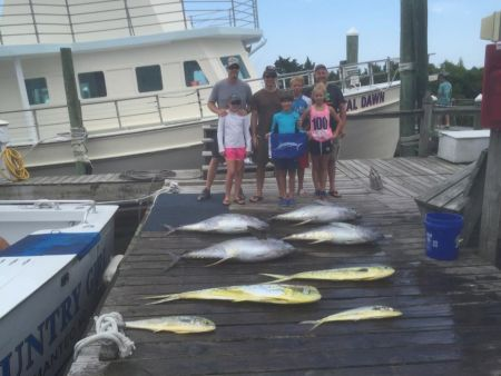 Country Girl Charters, Tuna are biting