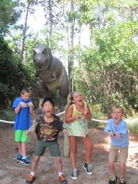 North Carolina Aquarium on Roanoke Island, Diggin' Dinosaurs Summer Camp