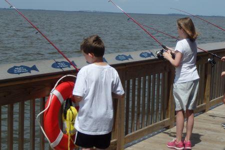 North Carolina Aquarium on Roanoke Island, What's the Catch?