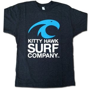 Kitty Hawk Surf Co., Kitty Hawk Surf Co.Tri-Blend Vintage Mens Crew Tee